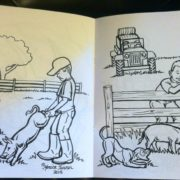Family Traditions Coloring Book